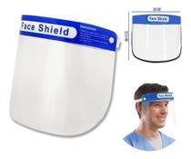 Máscara facial protetora anti-respingo transparente face shield ex026 1287869 - Uni