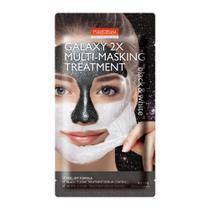 Máscara Facial Purederm 2 em 1  Limpeza Profunda e Hidratação -