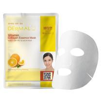 Máscara Facial Revitalizante Dermal - Colágeno com Vitamina C -