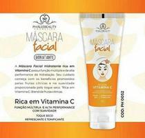 Máscara Facial Vitamina C PH052 PhálleBeauty -