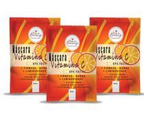 Máscara Facial Vitamina C Spa Facial New Beauty Sachê 8g - 3 Unidades -