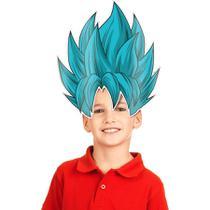 Máscara Goku Dragon Ball Super 08 unidades Festcolor - Festabox