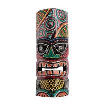 Máscara hawaiana tiki aborígene 30cm - Bali