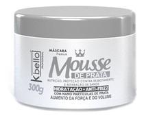 Mascara Hidratacao Mousse de Prata 300 gr kbello - Kbello Cosmeticos