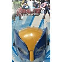 Máscara Infantil Wolverine Logan (4881) - Cartelado