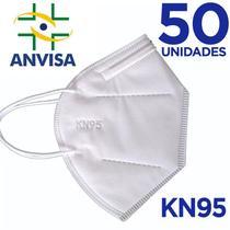Máscara KN95/N95 sem válvula (com ANVISA) - 50 unidades - Texmed