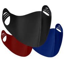 Máscara Lavável Tecido Neoprene Ninja  Kit 4 Unidades - Facemascaras