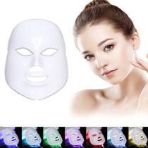 Máscara Led Facial 7 Cores Tratamento de Fototerapia - LED MIANMO