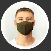 Máscara Masculina Esportiva Sports Verde Militar Palterm -
