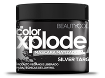 Máscara Matizante Beauty Color Xplode Silver Target 300g -