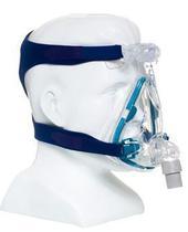 Máscara para cpap bipap facial mirage quattro pequena 61201 - resmed -