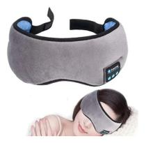 Máscara Para Dormir Tapa Olho Com Fone De Ouvido Bluetooth - Getit Well