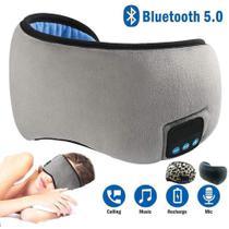 Máscara Para Dormir Tapa Olho Com Fone De Ouvido Bluetooth - Mrg -
