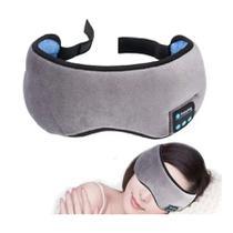 Máscara Para Dormir Tapa Olho Com Fone De Ouvido Bluetooth - Top Total
