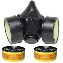 Máscara para Gás CG 306 com 2 Cartuchos RC 203 CARBOGRAFITE -