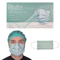 Máscara Phitta Mask - Virucida Proteção 12horas C/50 Un - Skye