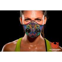 Mascara Protetora Esportiva UltraMask Slim Filtro Duplo - Multicolor -