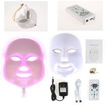 Mascara Rejuvenescimento Facial Bivolt Led 7 Cores - Lullu Person