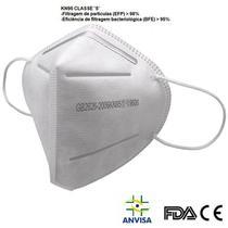 Máscara Respirador de Proteçao kN95 classe S Com Registro ANVISA Laudo BFE 95% FDA CA -