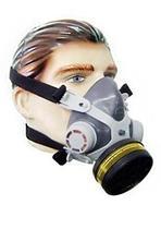 Mascara Respirador Facial Simples Gases Ácidos e Vapores Orgânicos com Óculos - Alltec
