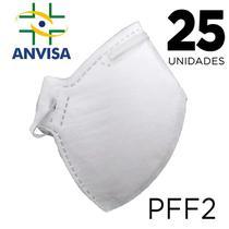Máscara Respirador PFF2 25 unidades - ANVISA 82167630001 - Texmed