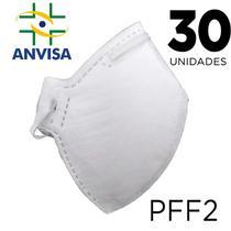 Máscara Respirador PFF2/N95 30 unidades - ANVISA 82167630001 - Texmed