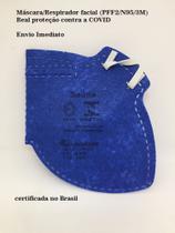 Máscara/Respirador PFF2/N95 (Kit 10 pçs) - Carbografite CG221