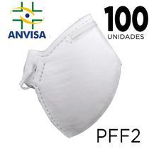 Máscara Respirador PFF2 pacote 100 unidades - ANVISA 82167630001 - Texmed/J2