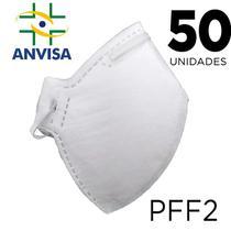 Máscara Respirador PFF2 pacote 50 unidades - ANVISA 82167630001 - Texmed