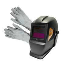 Mascara solda automatica profissional regulagem fixa psr-910 + luva de couro - Pro Euro