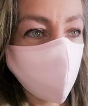 Máscara tecido algodão 3 camadas clipe nasal - Tékhne
