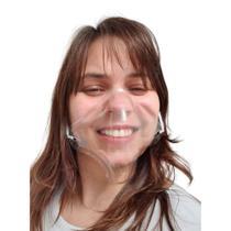 Mascara Transparente Confortavel Reutilizavel Fashion 50u - Sorriso Free