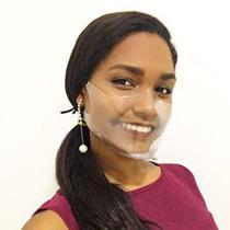 Máscara Transparente Soft Glass - Tamanho M - Arvital