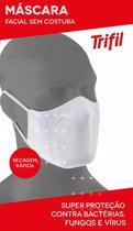 Máscara Trifill de tecido- Lavável e Reutilizável -