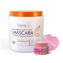 Máscara Vitamina C Rejuvenescedora Forever Liss 450g Ganhe Brindes -