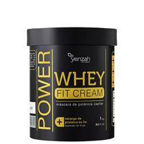 Máscara Yenzah Whey Fit Cream - 1kg -