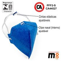 Máscaras (CAIXA) Respiratória PFF2-S sem Válvula, N95 - Átomos -