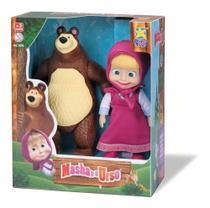 Masha e o Urso bonecos de vinil Divertoys Licenciado -