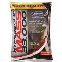 Mass 33000 Refil (1,4kg) - Morango - Nutri Health -