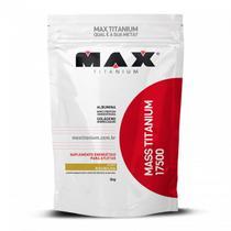 Mass Titanium 17500 3kg - Baunilha - Max Titanium -