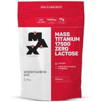 Mass Titanium 17500 Zero Lactose 2,4kg Max Titanium -