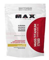 Massa Baunilha 17500 Mass Titanium 1,4kg - Max Titanium