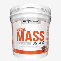Massa - BIG SIZE MASS - Balde - 6 kg - Sabor Chocolate  BRNFOODS - Br Nutrition Foods