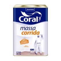 Massa corrida 25kg Coral -