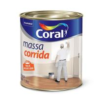 Massa corrida - 900ml coral -
