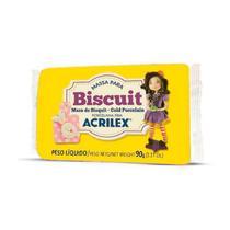 Massa de Biscuit 90g - Amarelo - Acrilex -