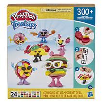 Massa de Modelar - Play-Doh Treatsies - Comidinhas de Festa - Hasbro -