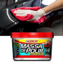 Massa de Polir Tira Riscos Luxcar Efeito Prolongado Polimento Automotivo -