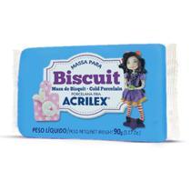 Massa de Porcelana Fria Biscuit 90G AZUL Celeste - Acrilex