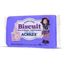 Massa de Porcelana Fria Biscuit 90G Lilas - Acrilex
